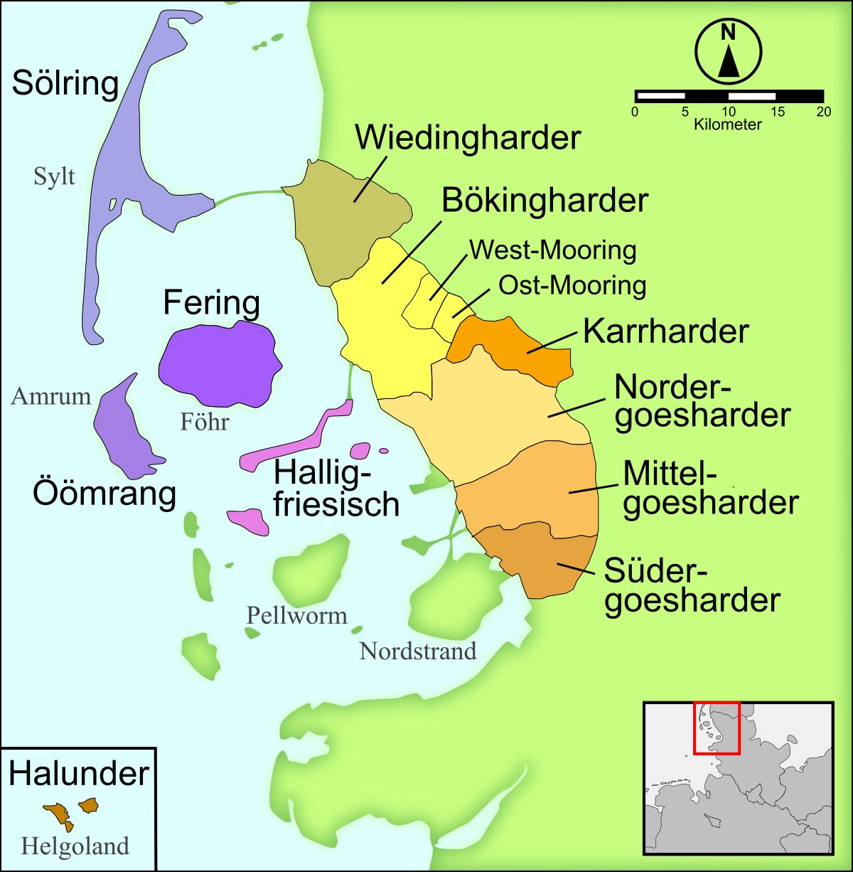 Language Diversity English The North Frisians in Germany