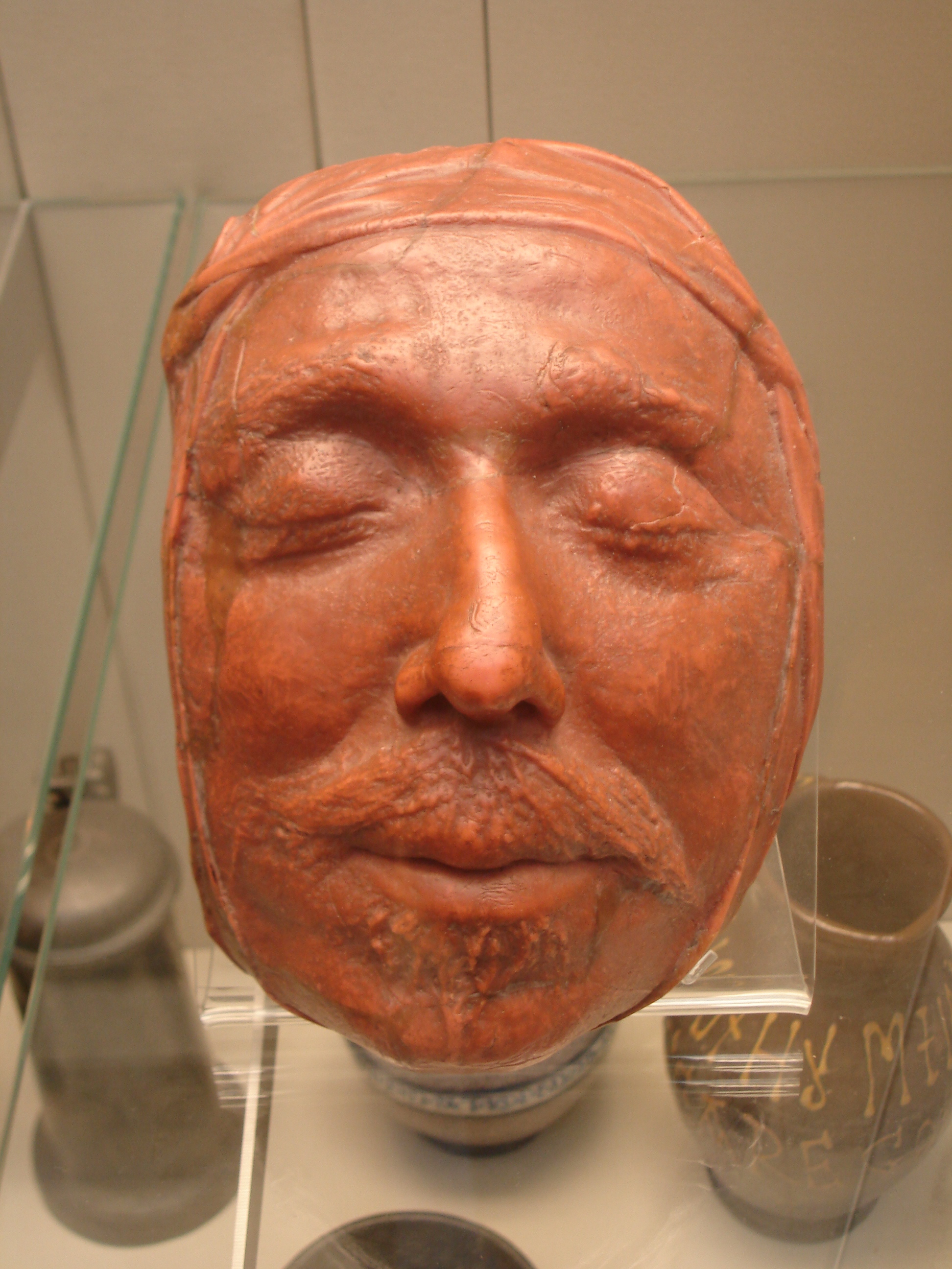 File:Oliver Cromwell's death mask.jpg - Wikimedia Commons