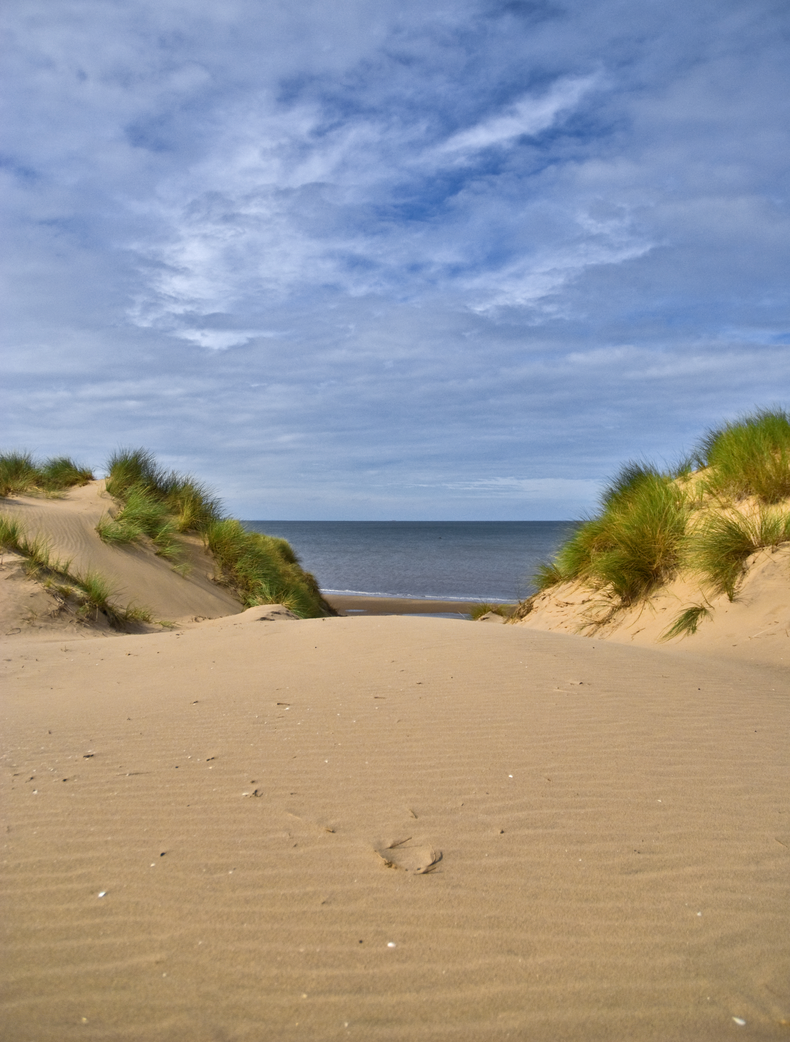 Fileon The Way To The Beach Formby Uk