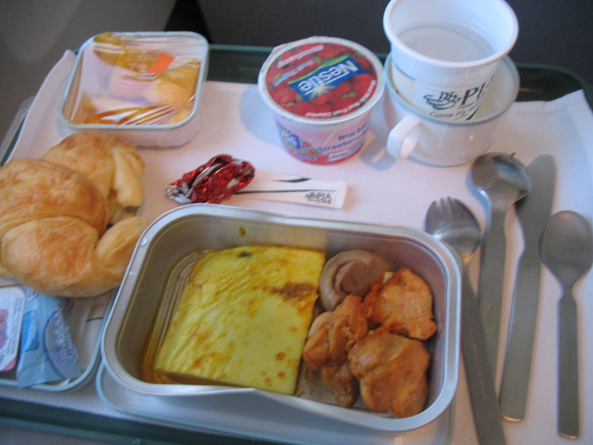 Pia Food Menu