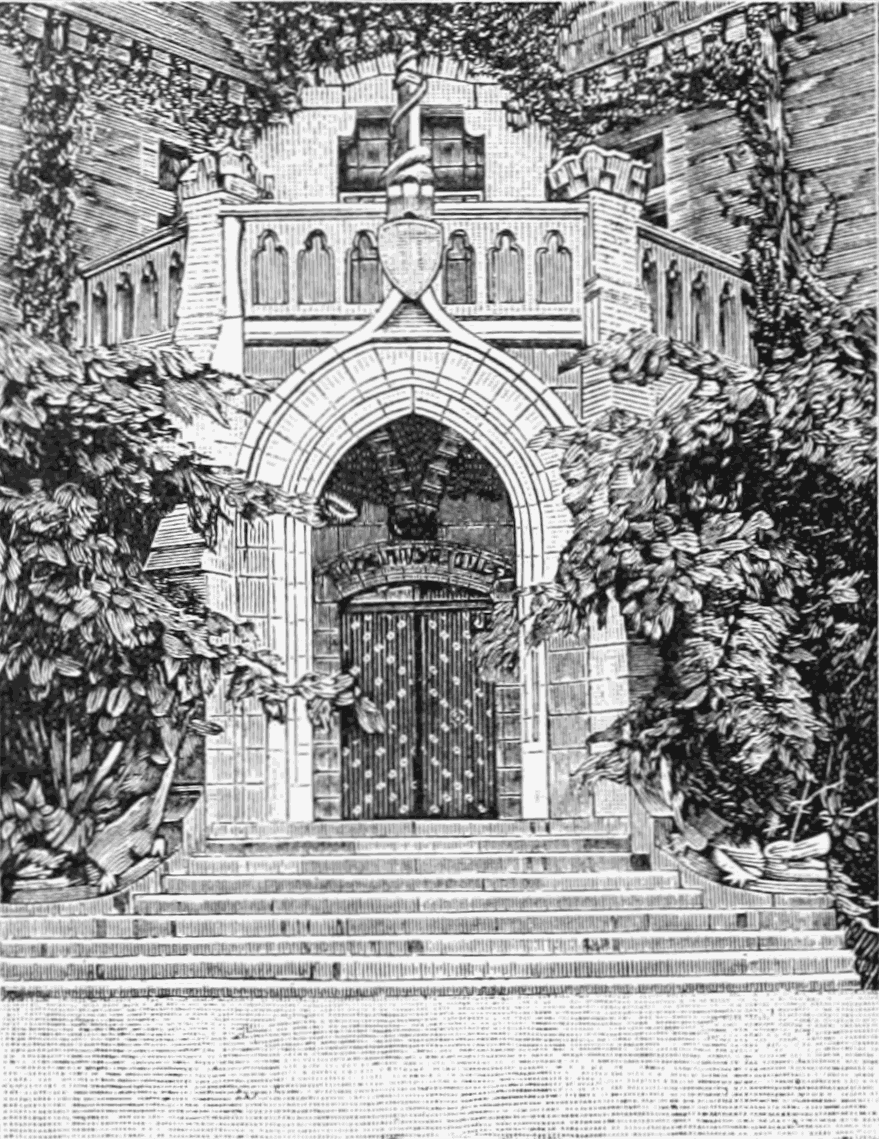 PSM V54 D092 Principal entrance to chateau dabbadie.png