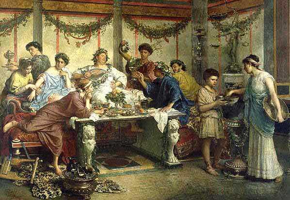 Кухня Древнего Рима. Часть 2
