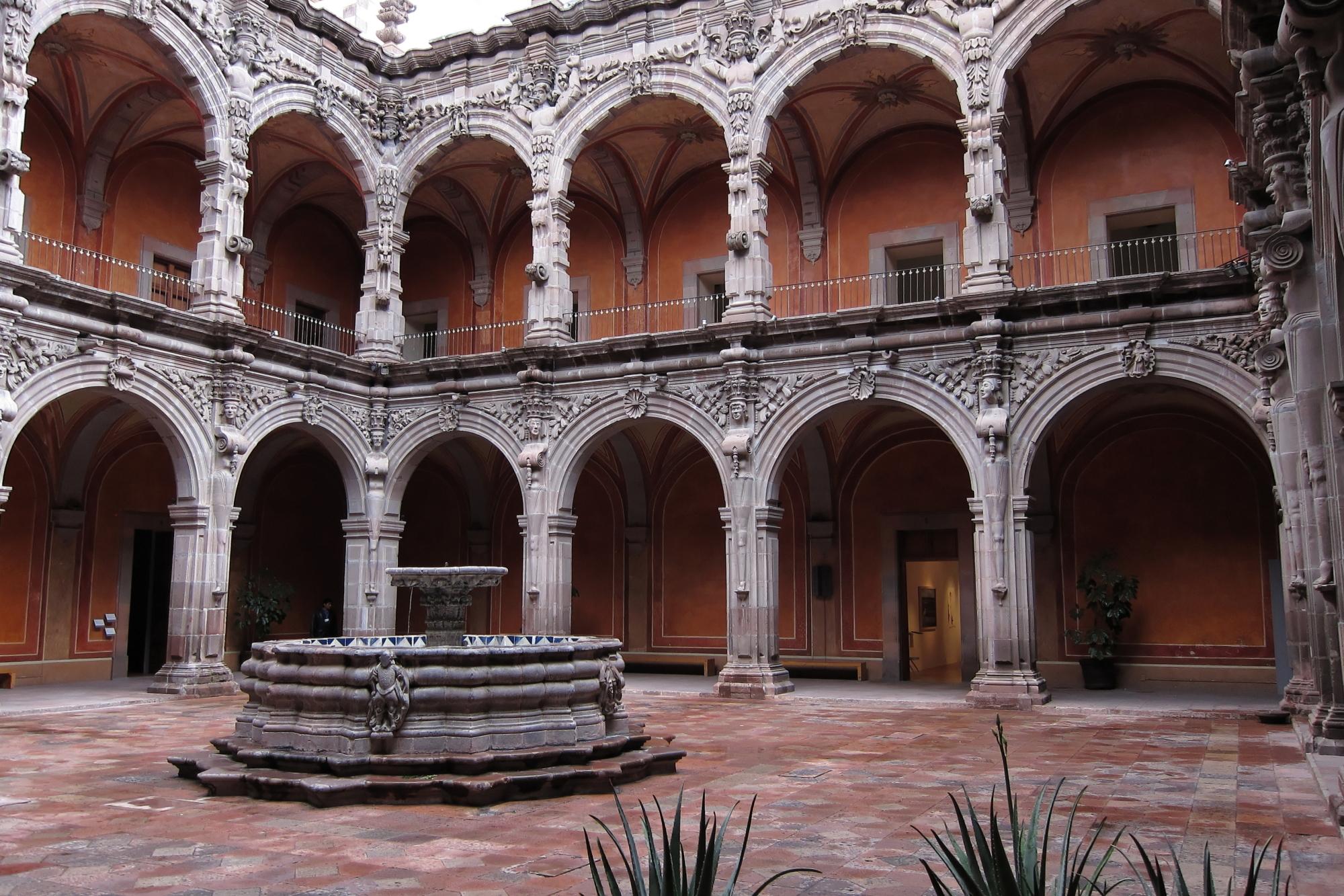 File:Patio Del Ex Convento De San Agustín.JPG