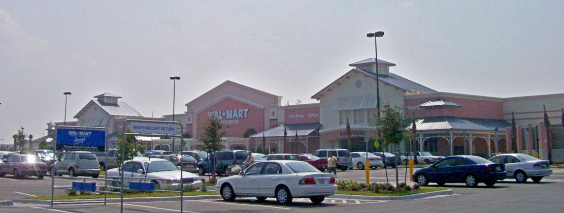 Walmart On Rd Street In Panama City Florida