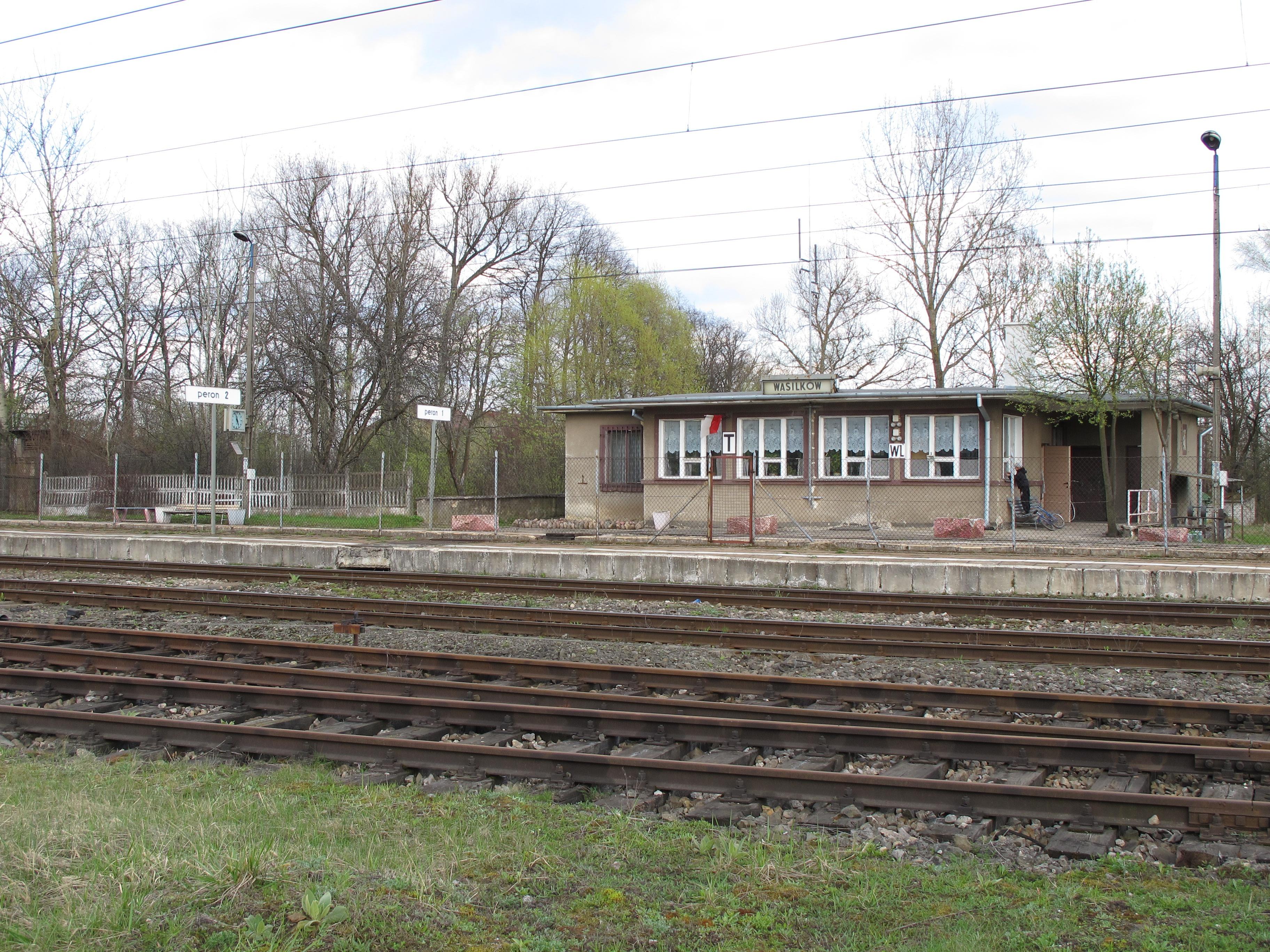 Vasilkuvo geležinkelio stotis