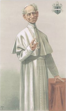 pope leo xiii rerum novarum essay Pope leo xiii is the longest lived pope in church history he wrote the encyclical rerum novarum and also taught that the rosary was part of the solution to the.