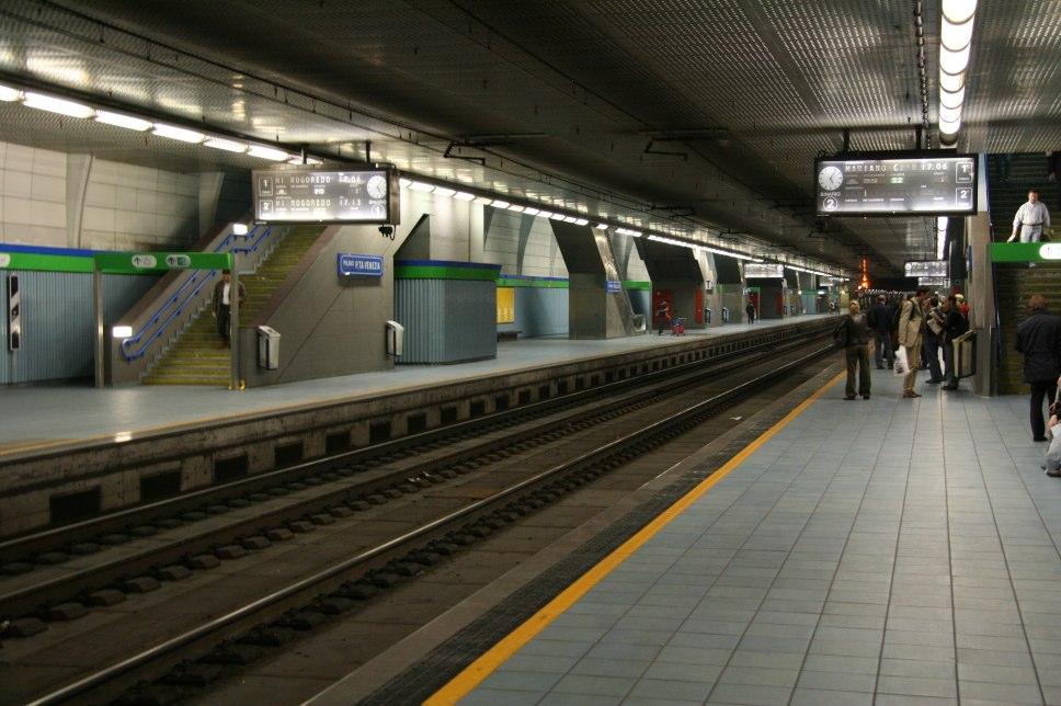 Stazione di milano porta venezia wikipedia - Passante porta garibaldi ...
