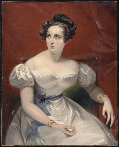 Portrait of Harriet Smithson by Dubufe