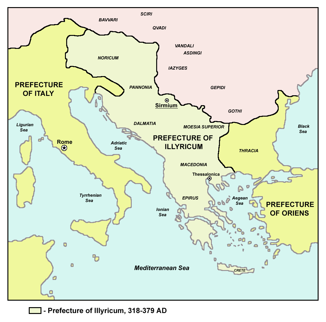 illyrian provinces Illyria: illyria  the illyrian frontiers extended from the danube river southward to the adriatic sea and  illyricum was divided between the provinces of.