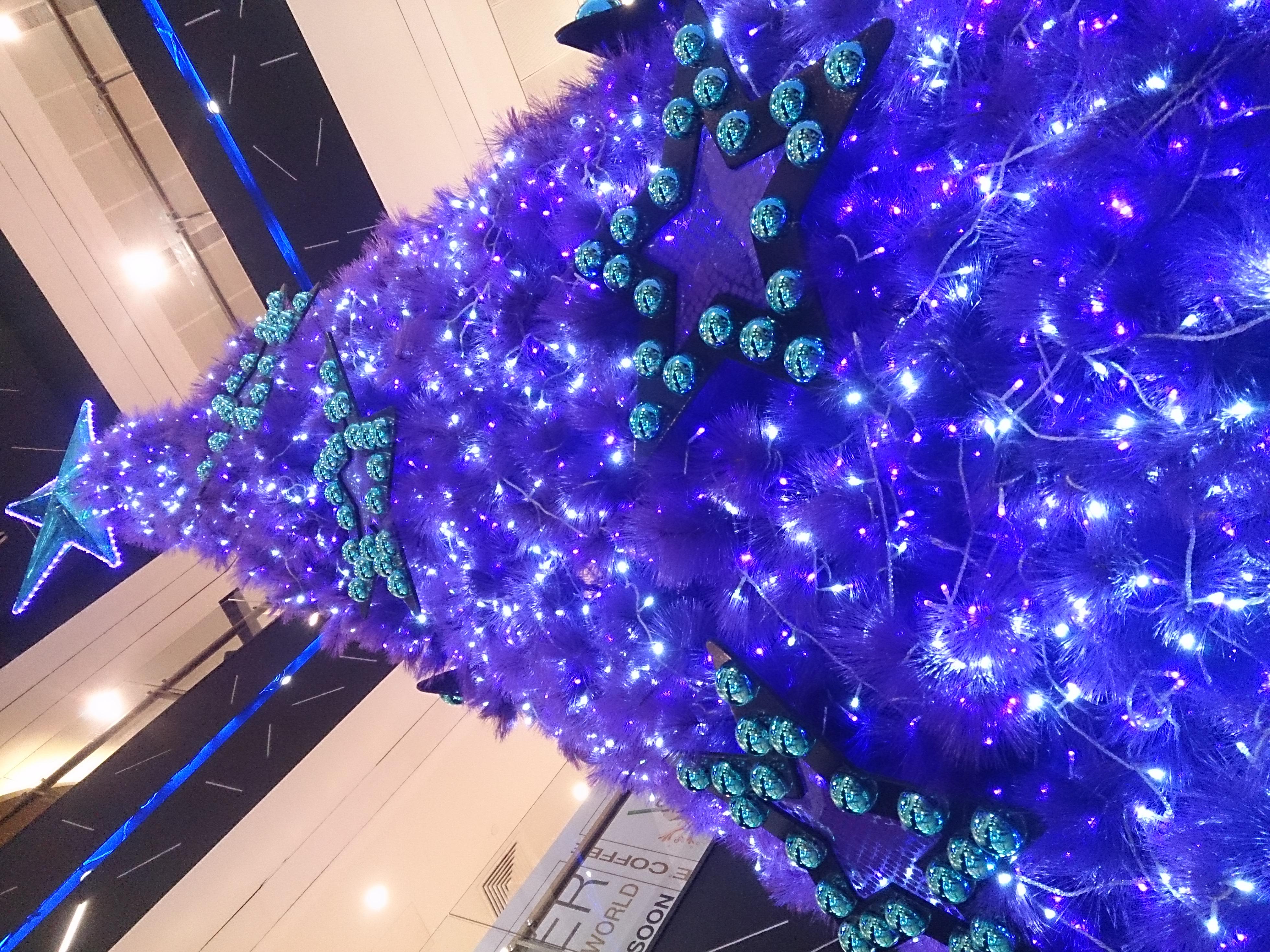 filepurple christmas treejpg - Purple Christmas Tree Lights