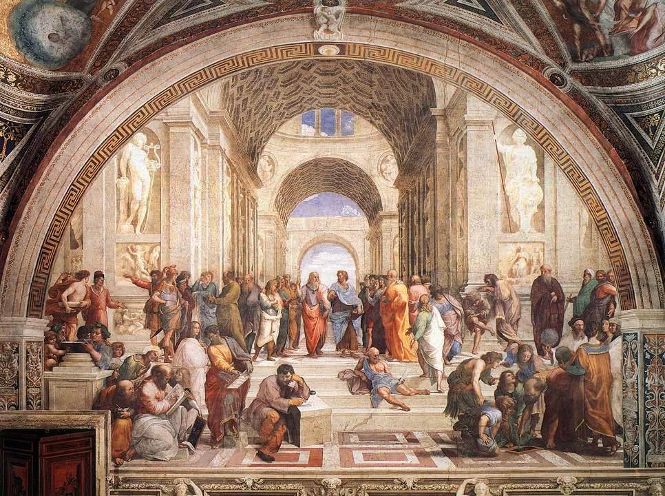A Escola de Athenas