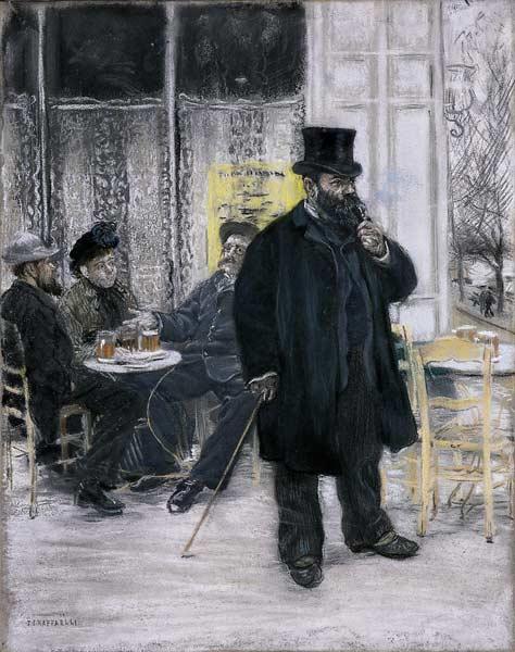 Bohemian at the Café