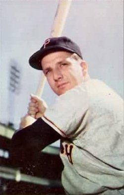 English: 1953 Bowman Color baseball card of Ra...
