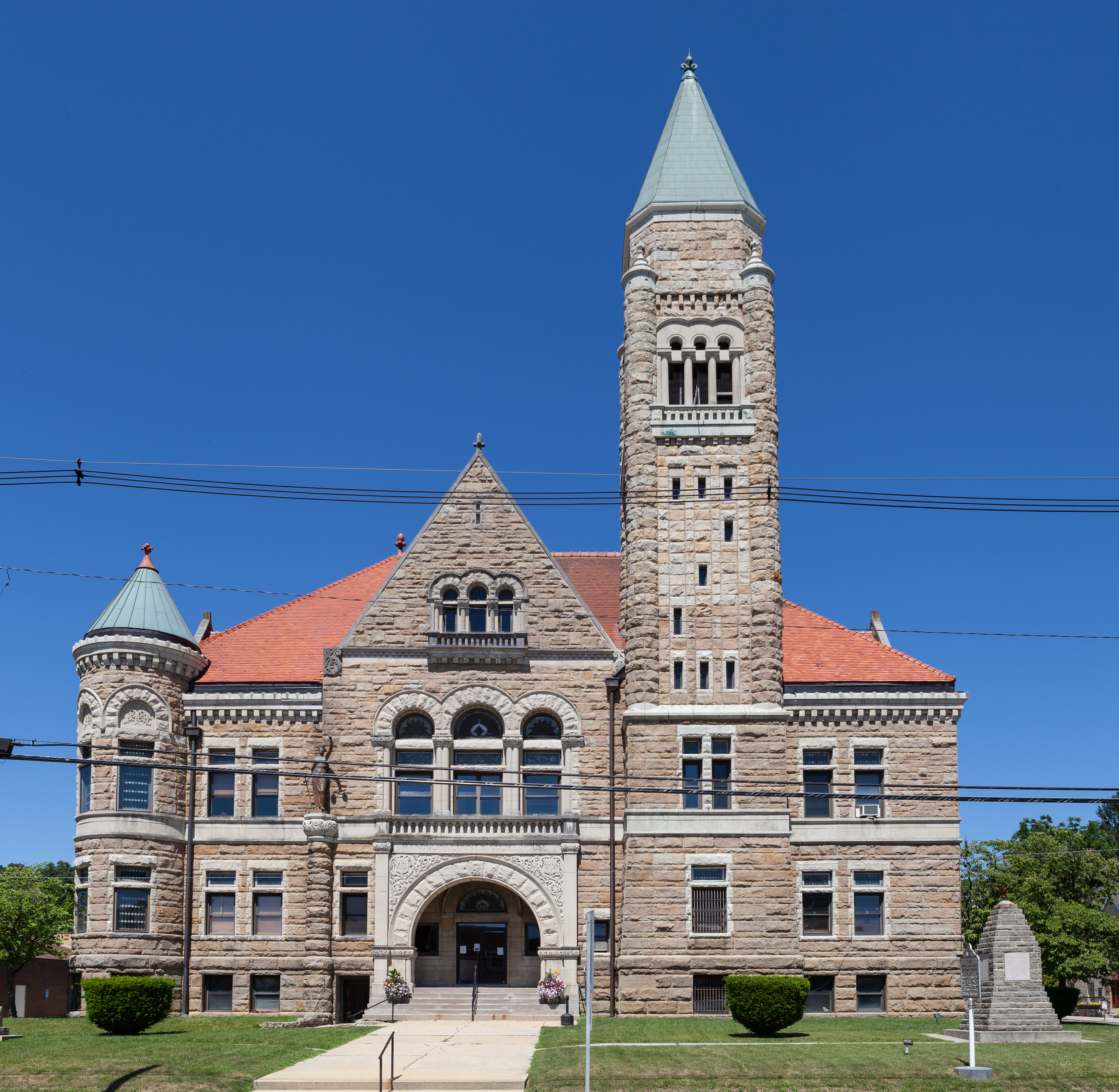 Randolph County Courthouse and Jail - Wikipedia