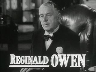 Reginald Owen British actor