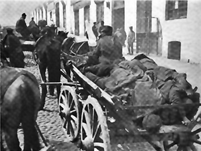 Archivo:Removing the dead from the streets of baku march days 1918.png