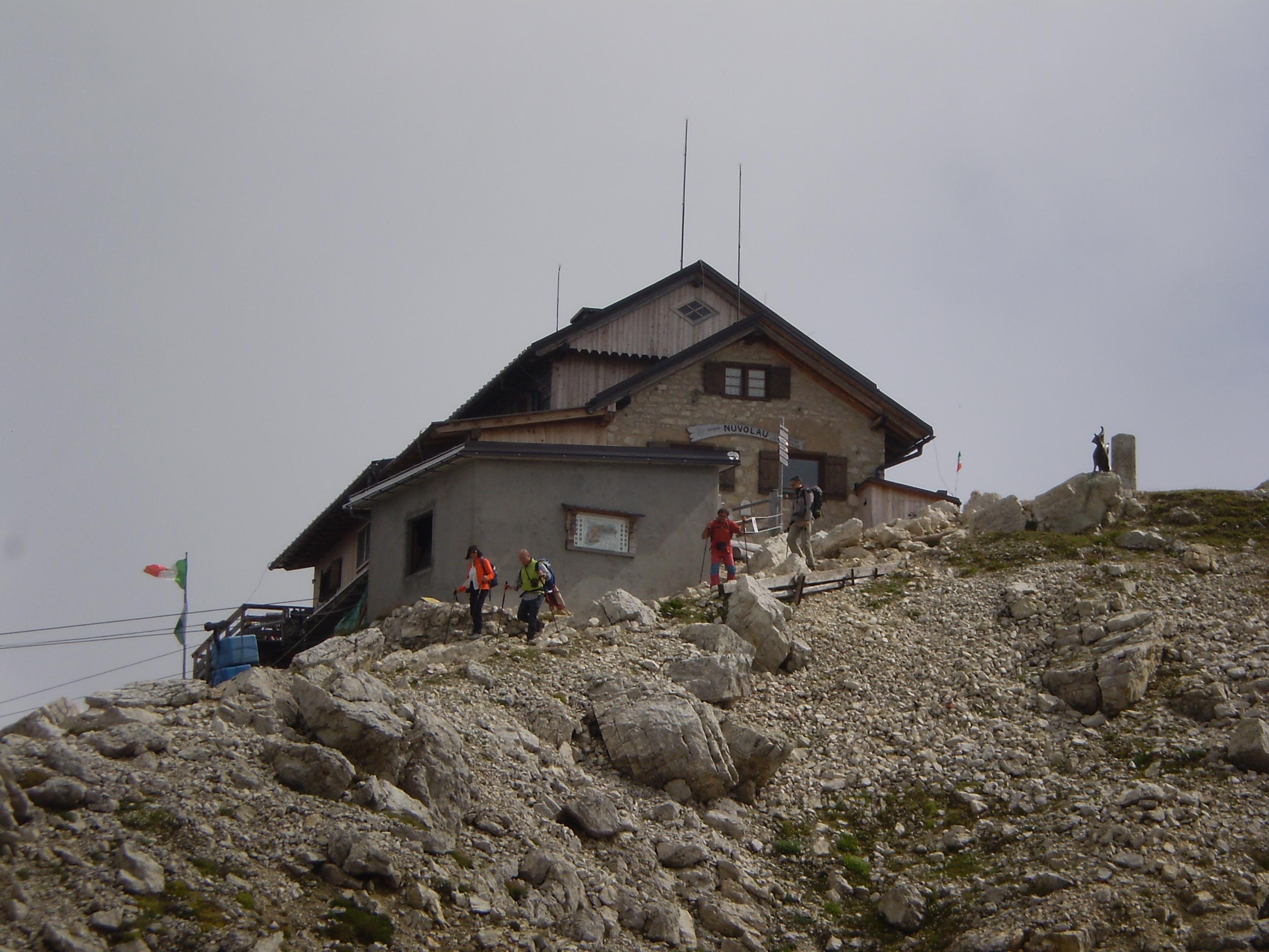 Rifugio Nuvolau - Wikipedia