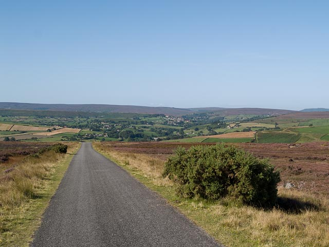 Road down from Danby Beacon - geograph.org.uk - 552624
