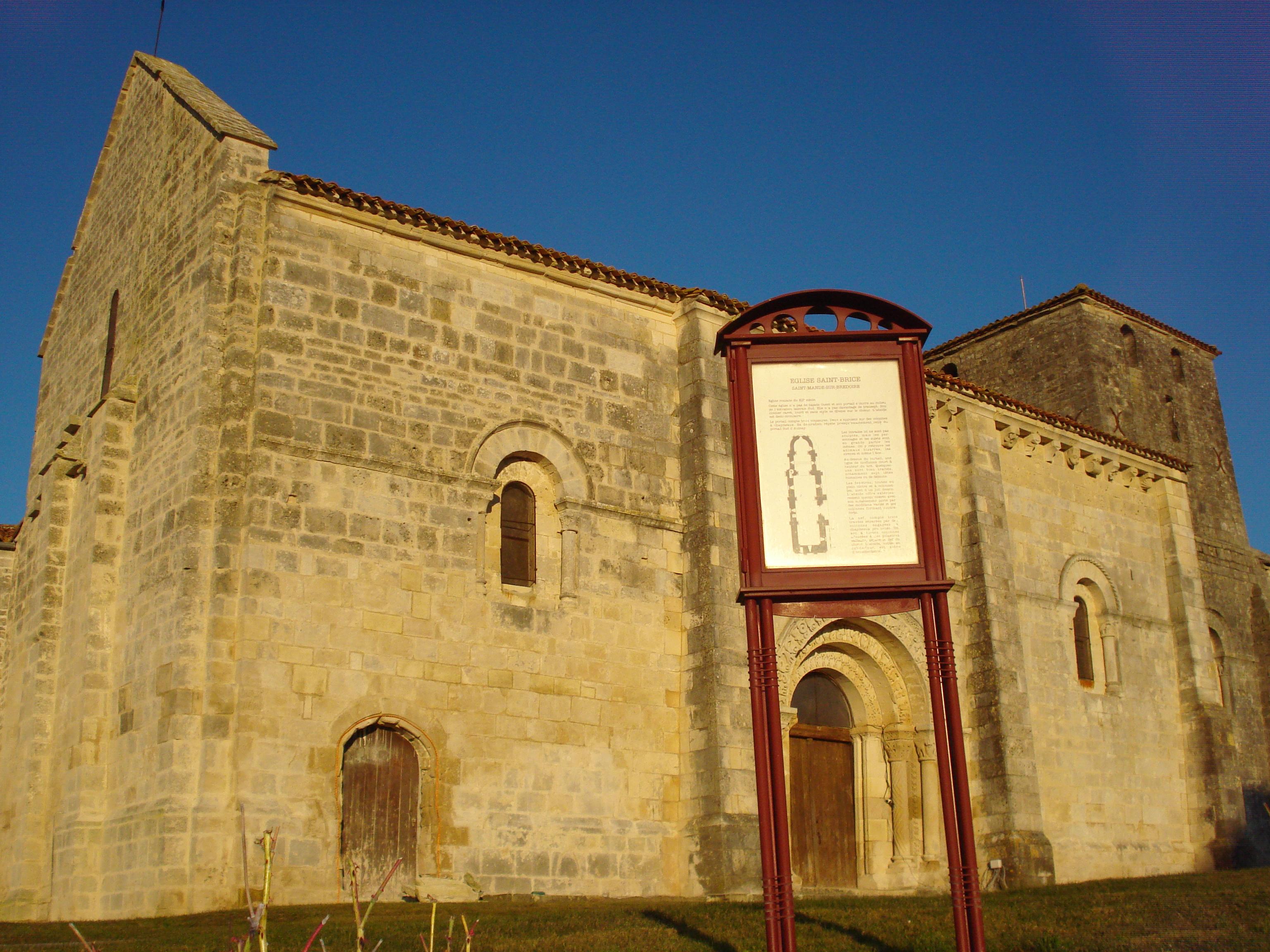 Saint Mandé Sur Brédoire Wikipedia