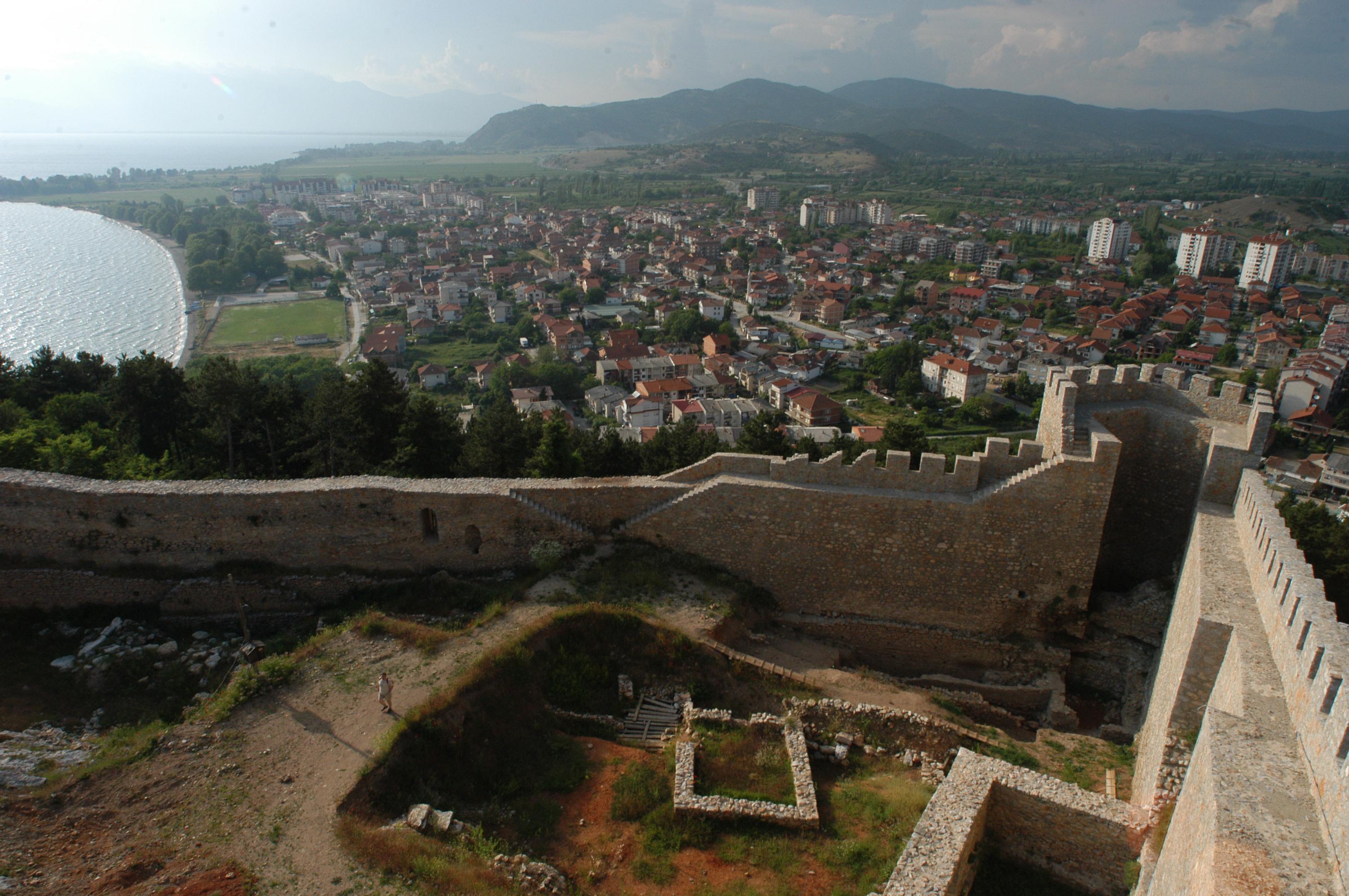 Ohrid Macedonia  City pictures : Samuel Krepost Ohrid, Macedonia Wikimedia Commons