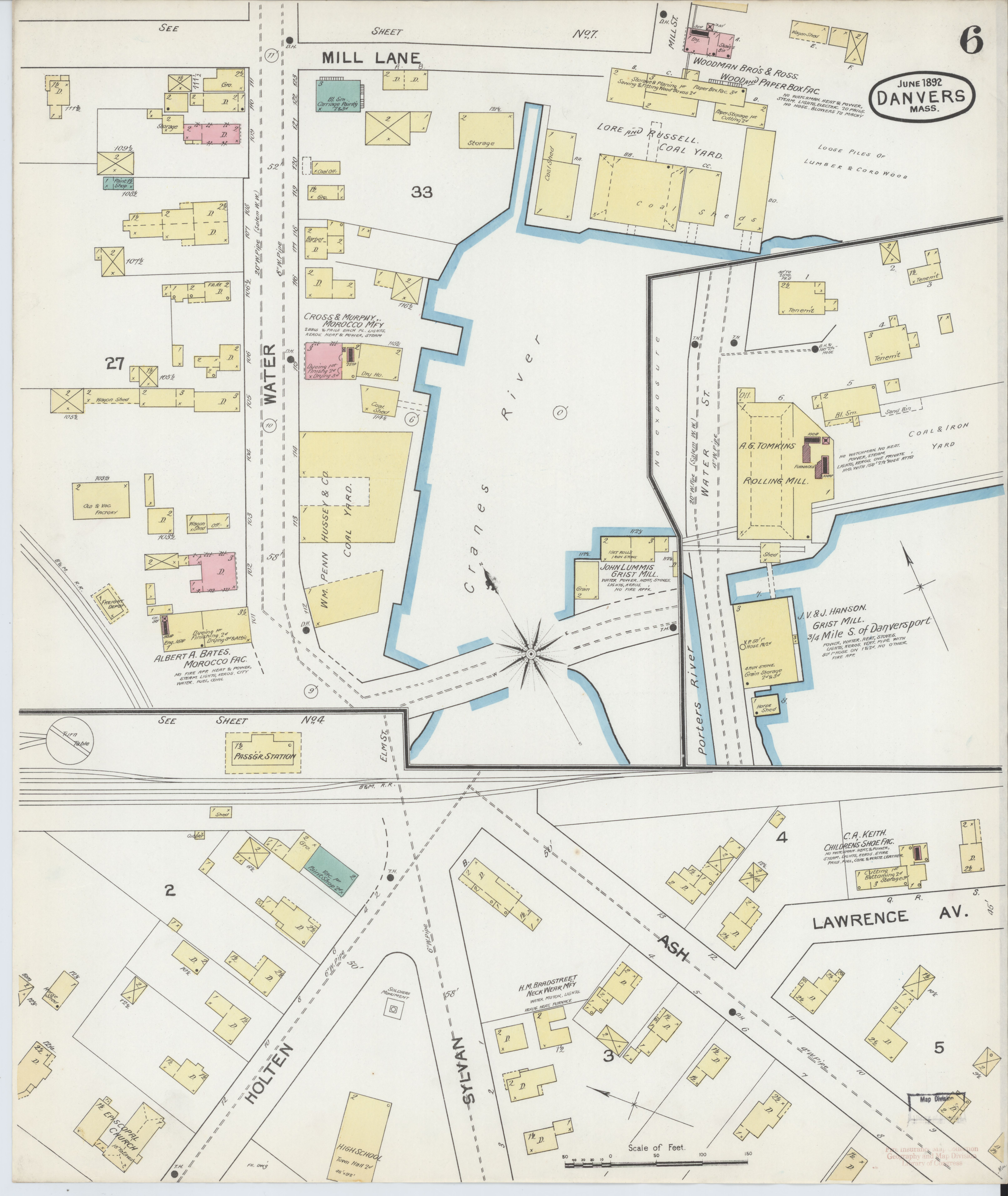 File:Sanborn Fire Insurance Map from Danvers, Es County ... on s and p charts, s and p performance, s and p futures, s and p index,