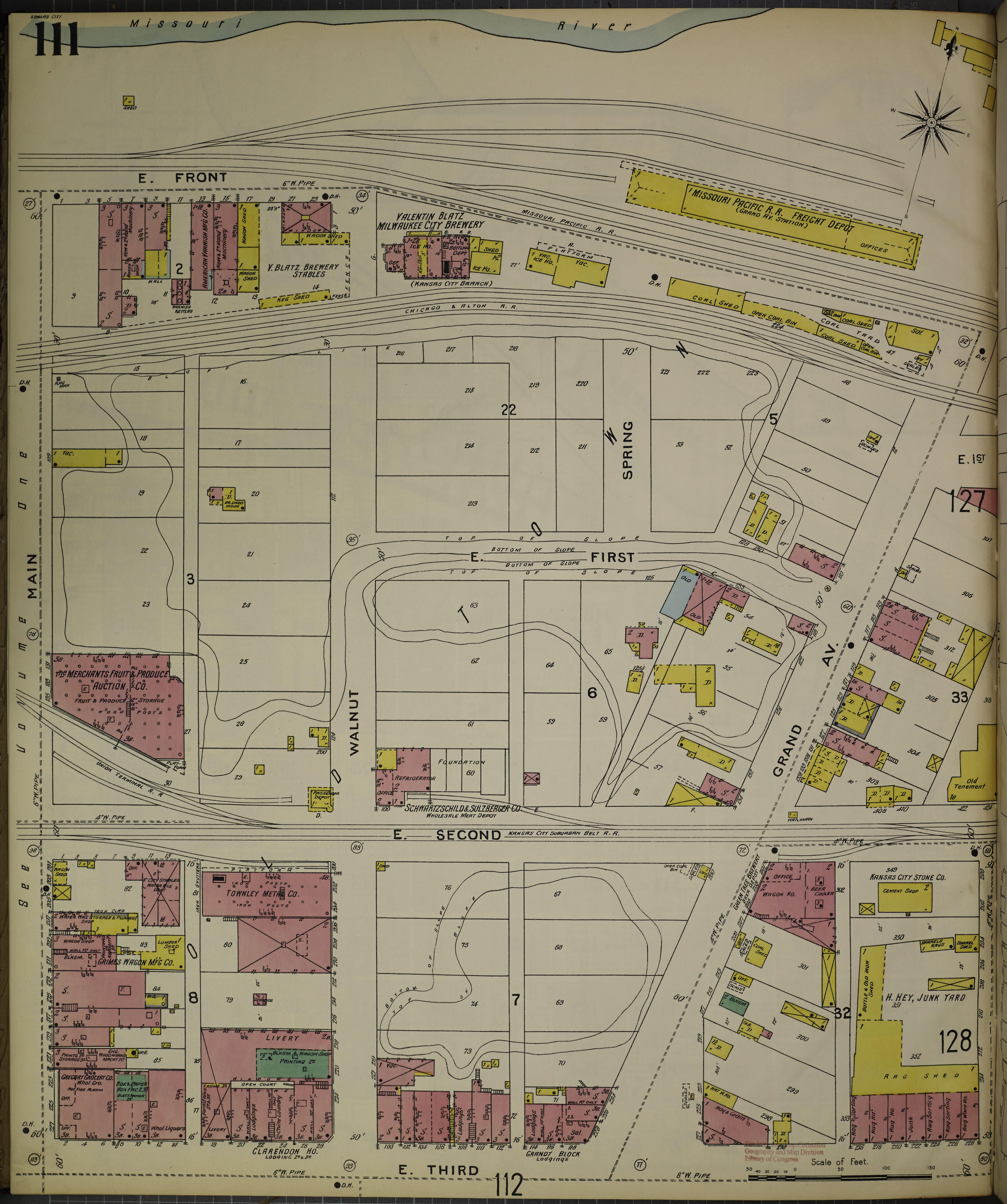 Alton Kansas Map.File Sanborn Fire Insurance Map From Kansas City Jackson Clay And