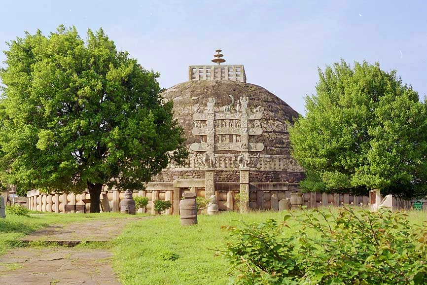 Sanchi Stupa Wallpaper Hd: Tourism In Madhya Pradesh