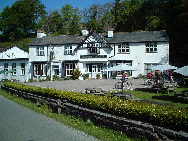 Sawrey hotel - geograph.org.uk - 480413