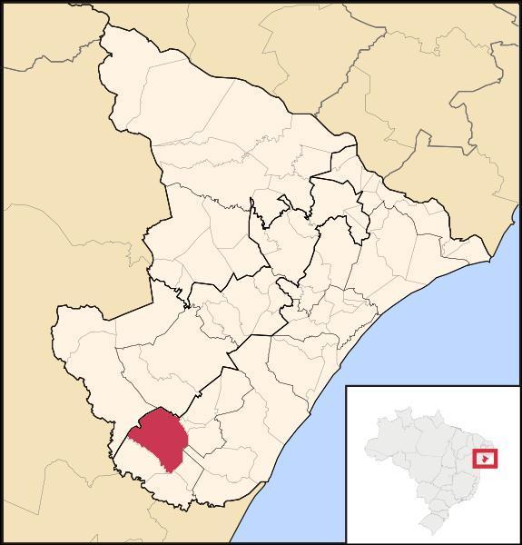 Localização  Itabaianinha