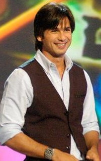 English: Indian actor Shahid Kapoor