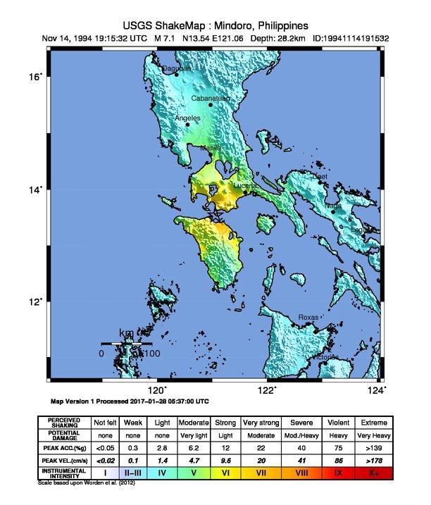 1994 Mindoro Earthquake Wikipedia