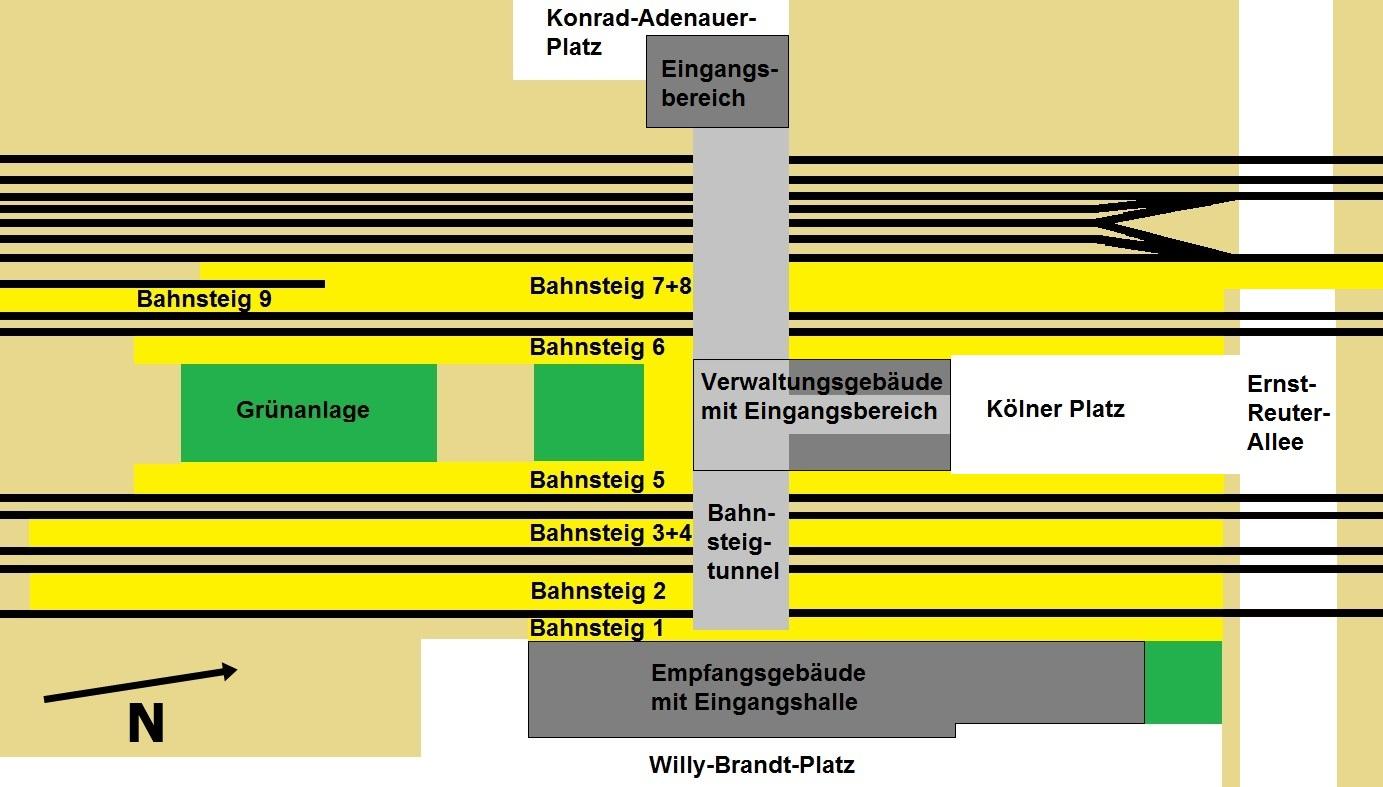 Mckenwirt in Buckau Kirche Prester Loop from Magdeburg
