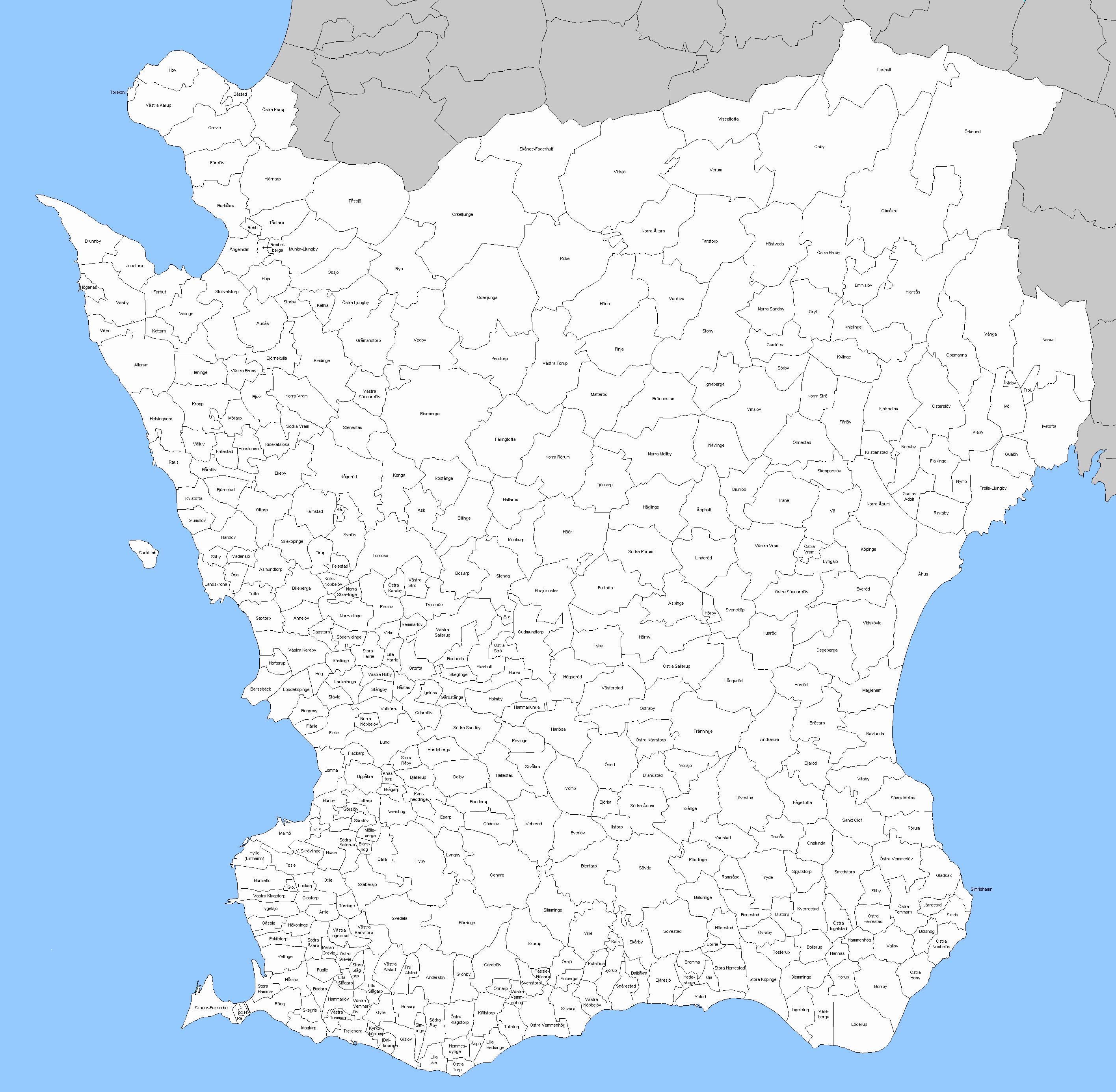 östra karup karta File:Sockenkarta Skåne.png   Wikimedia Commons östra karup karta