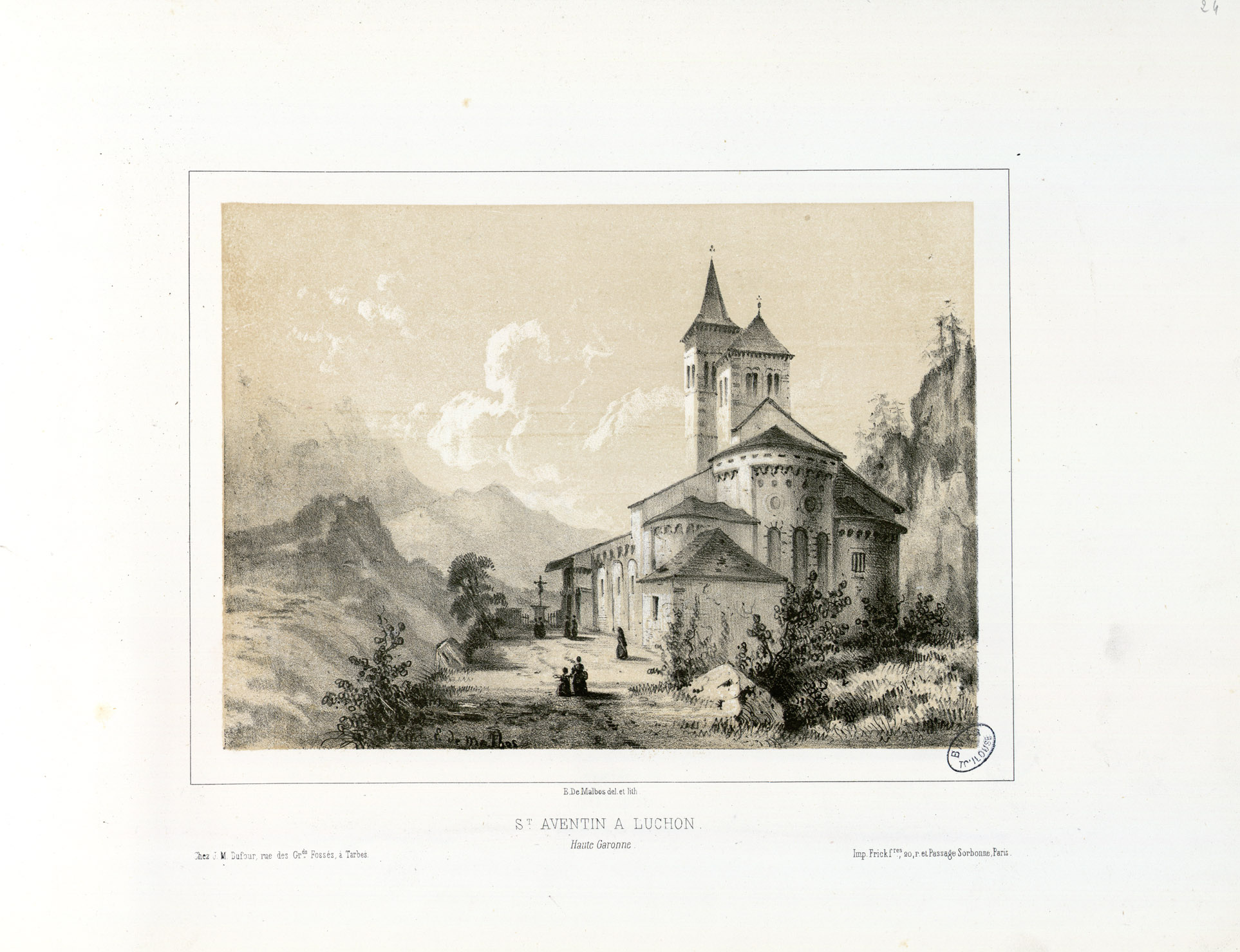 FileSt Aventin Luchon Haute Garonne