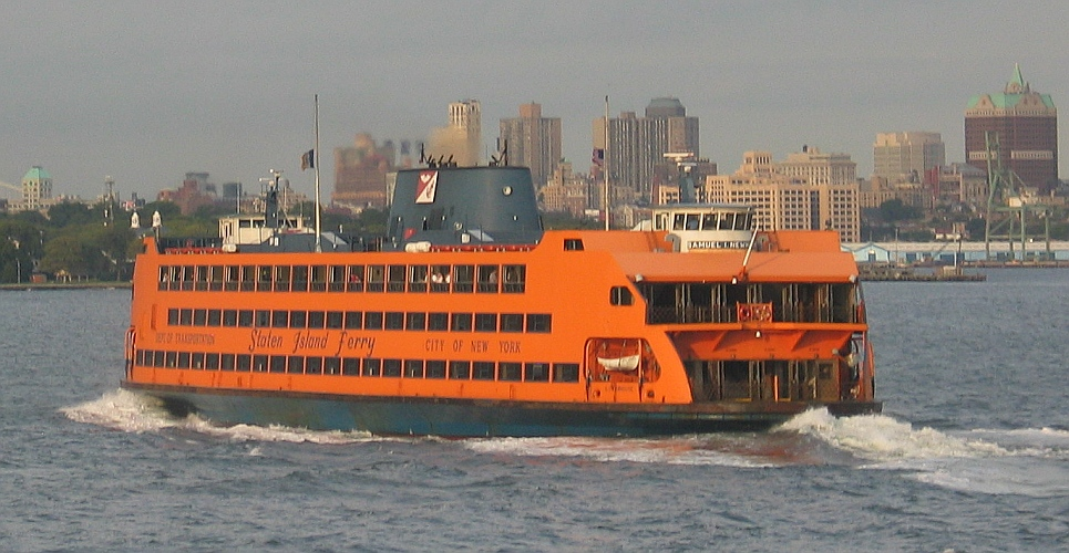 Ferry To Staten Island Map