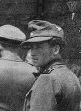 Stefan Baretzki SS guard at Auschwitz of Romanian Volksdeutsche origin
