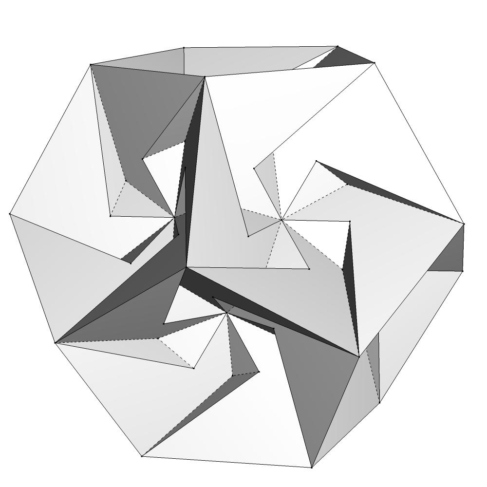 пятьдесят девять икосаэдров кокстер