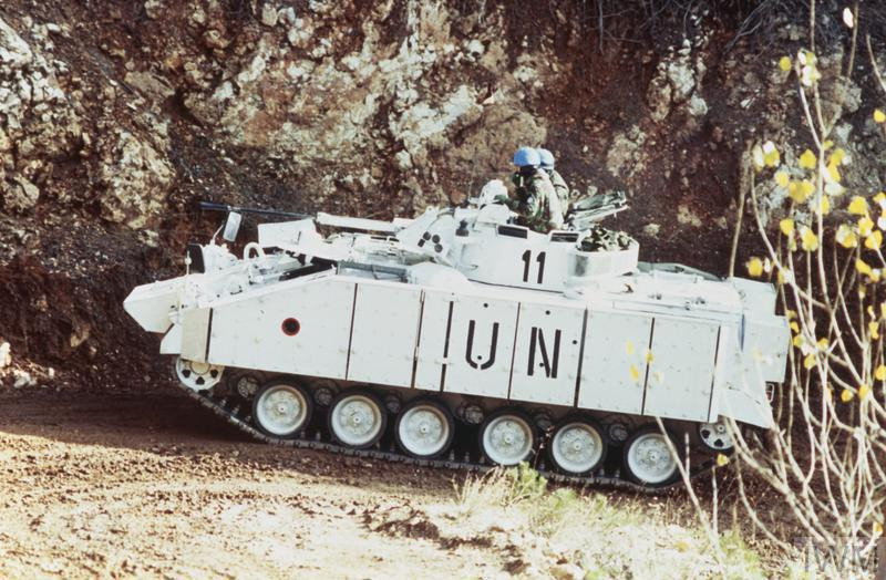 FileTHE BOSNIAN CIVIL WAR BRITISH FORCES WITH THE UNITED NATIONS PROTECTION FORCE IN BOSNIA AND CROATIA 1992