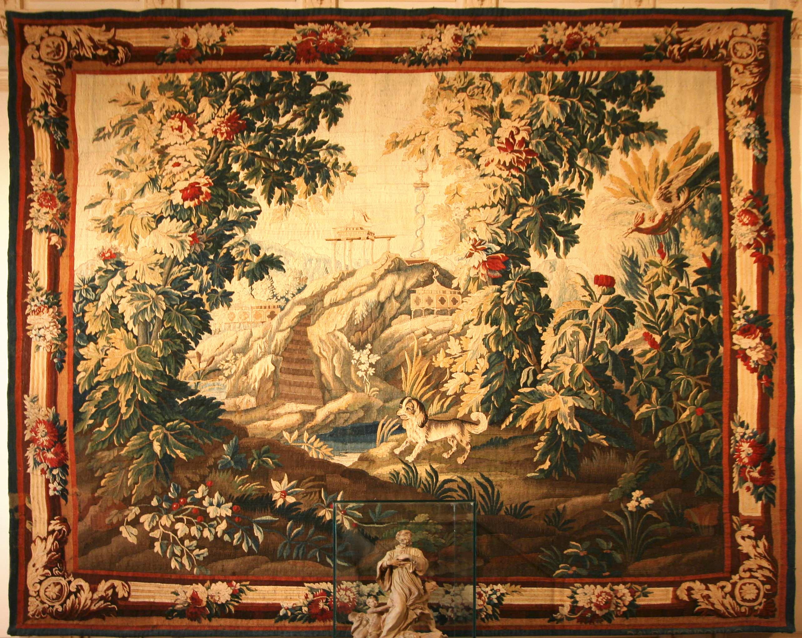 Fichier Tapisserie D Aubusson Musee Labadie Jpg Wikipedia