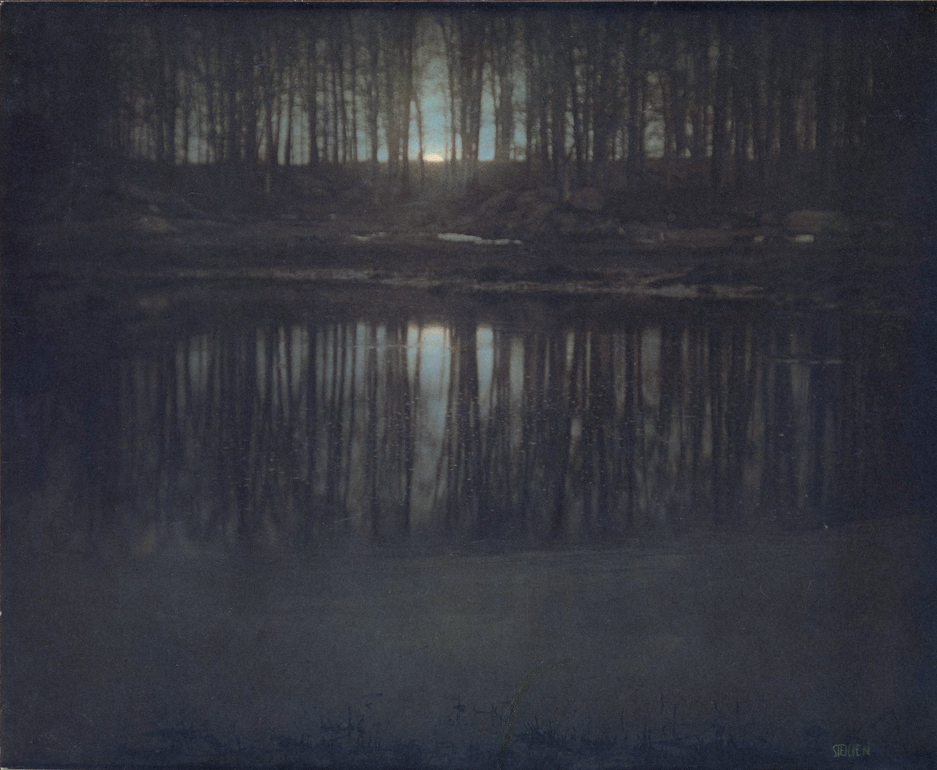 The Pond, Moonlight - Edward Steichen