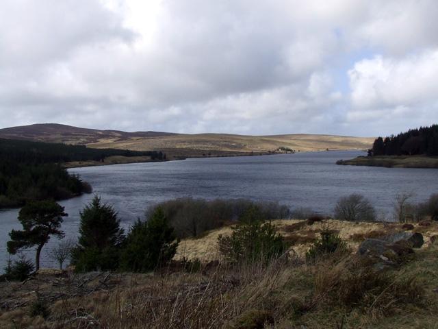 The Alwen reservoir - geograph.org.uk - 150680