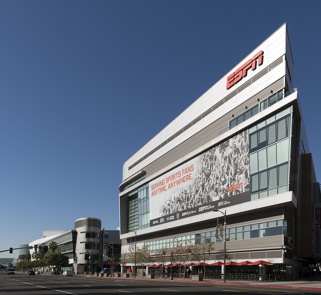 File:The West Coast headquarters and studio building for ESPN, the ...