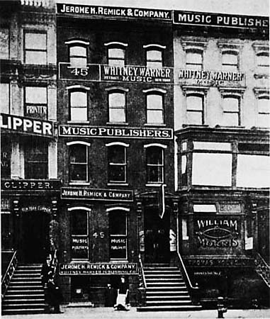 Tin Pan Alley ca. 1910