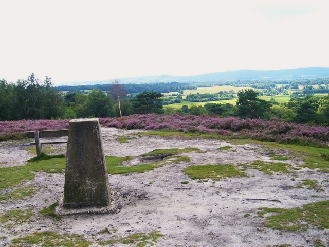 Triangulation Pillar on the Serpent Trail - geograph.org.uk - 1071969