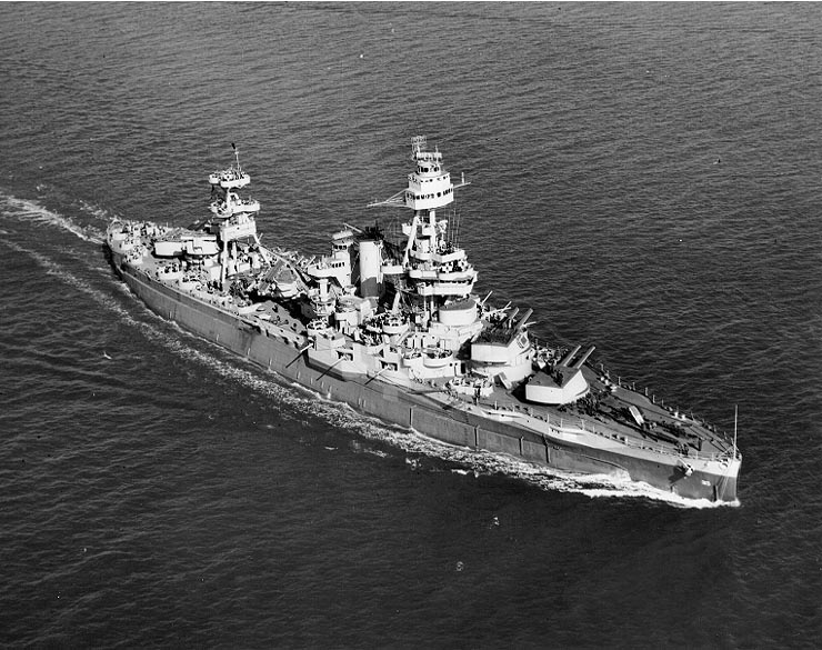 The USS Texas