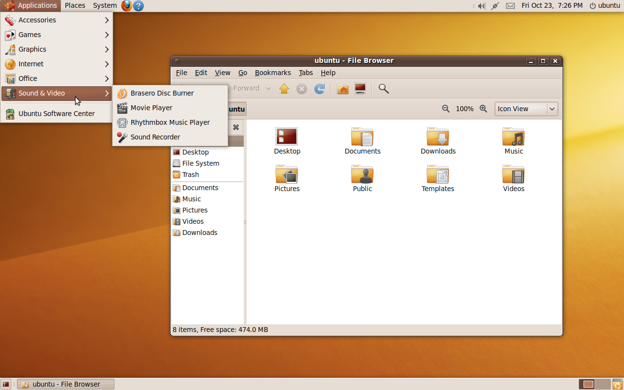 ubuntu 9.10 francais