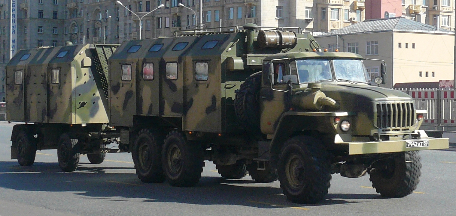 Description ural 4320 trailer russian army