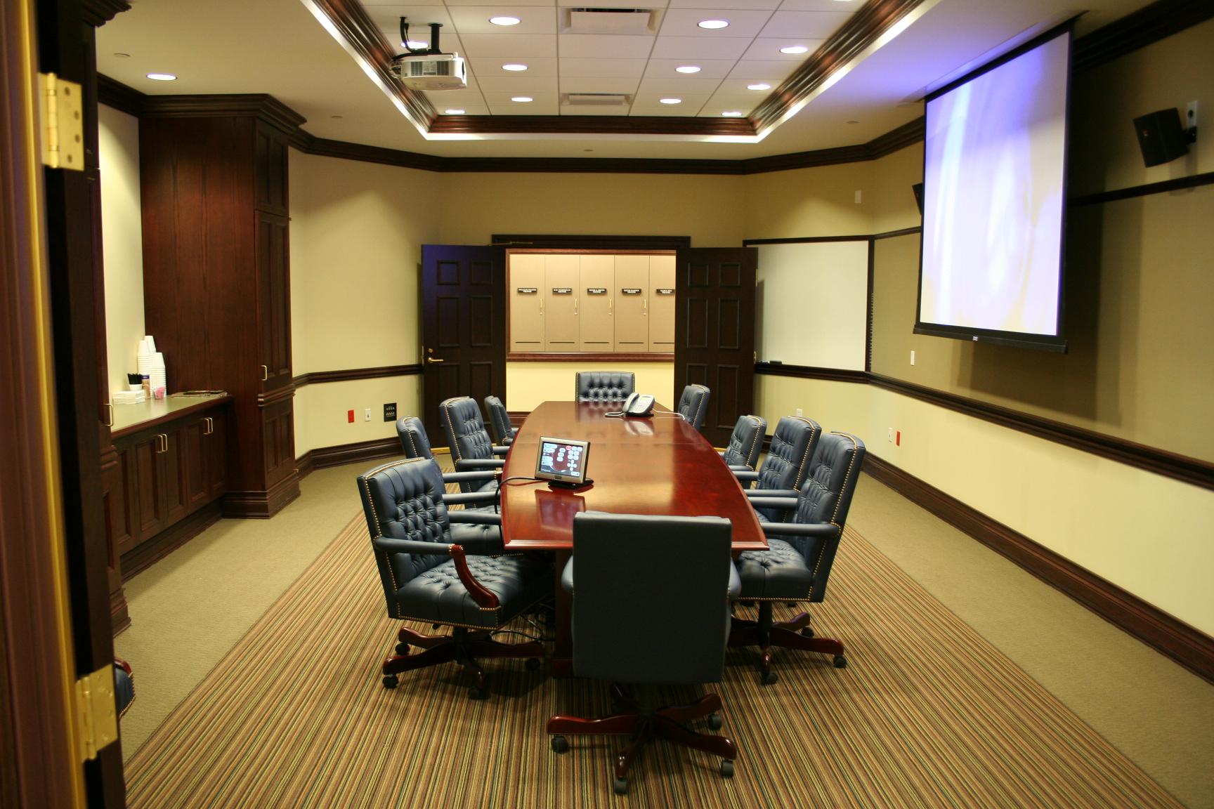 Description Video Conference Room West of Council Chambers.JPG
