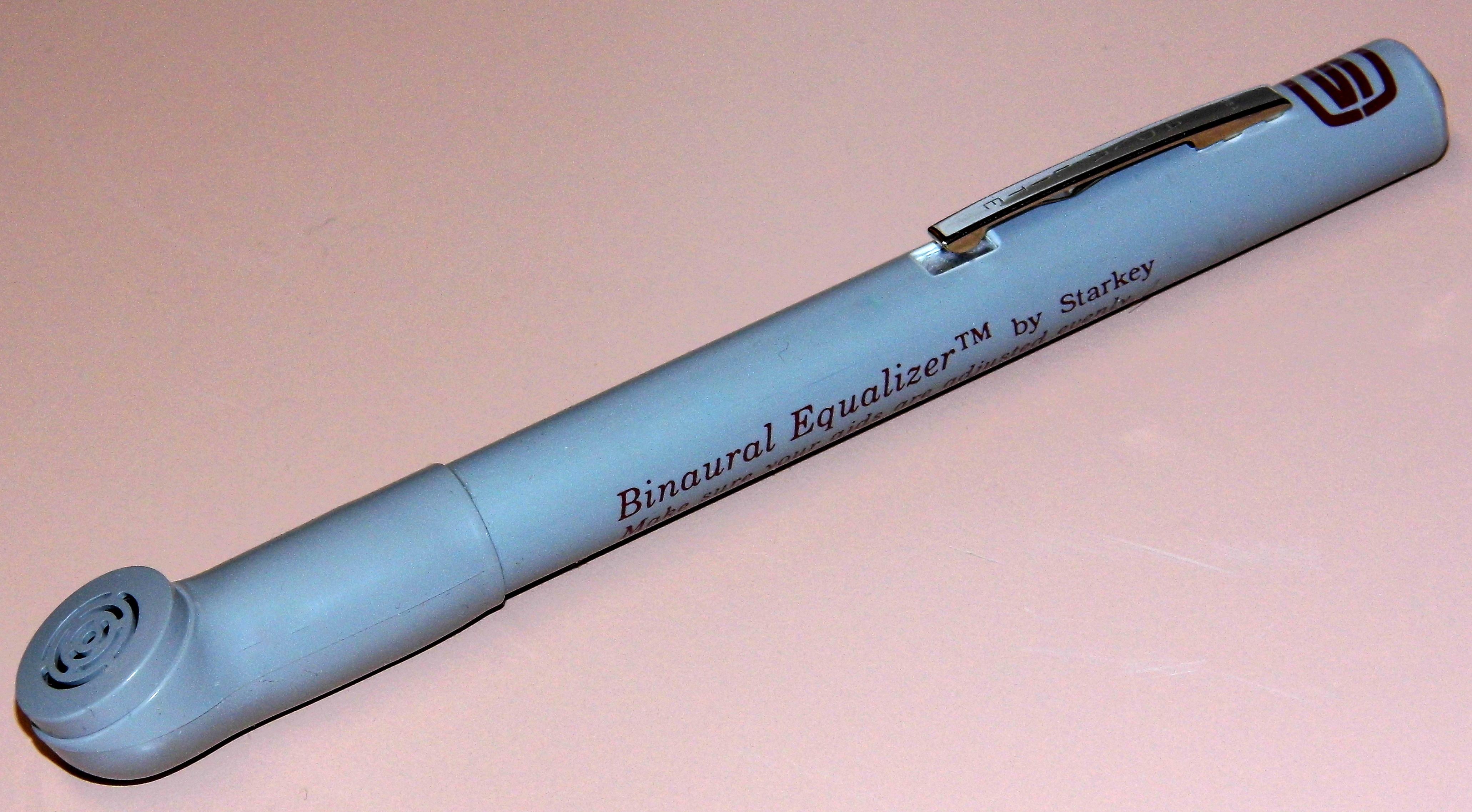 File Vintage Starkey Binaural Equalizer Fountain Pen Size Tone