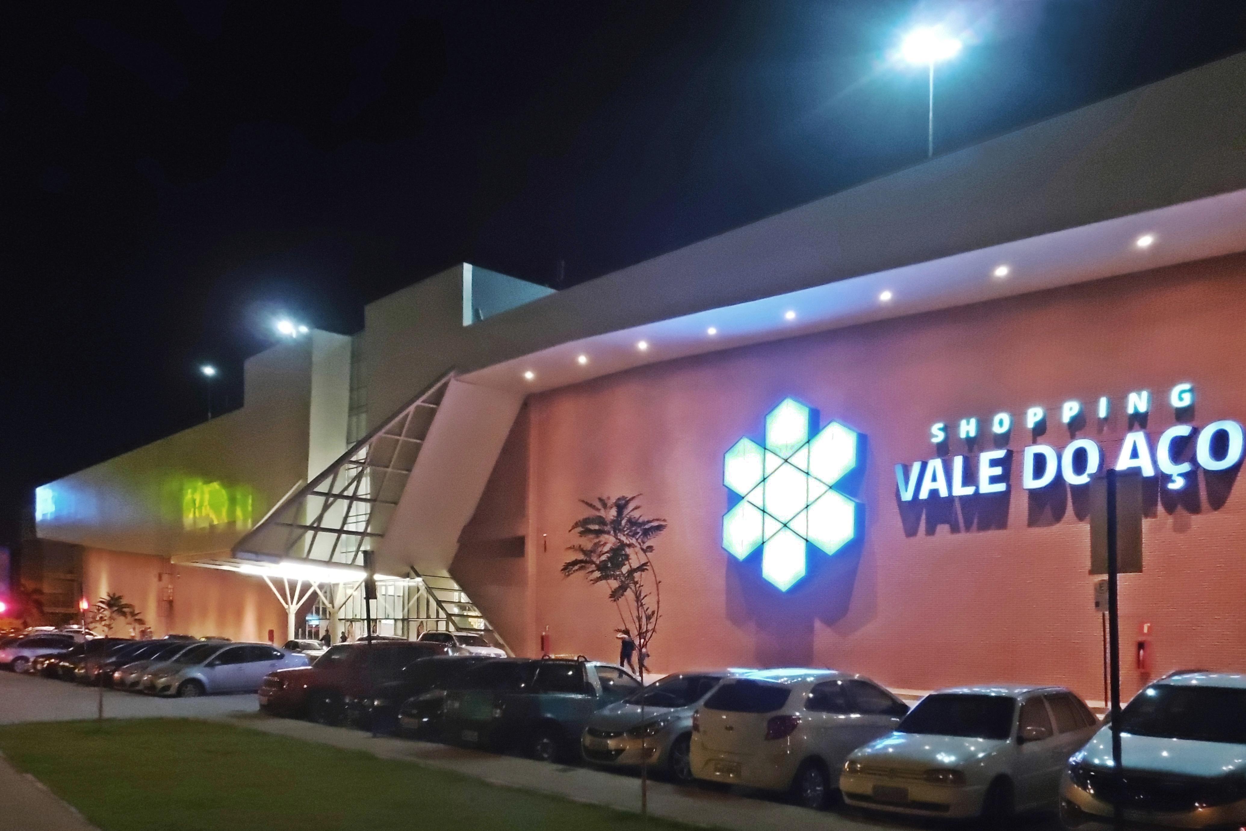 File:Vista Parcial Do Shopping Vale Do Aço, Ipatinga MG